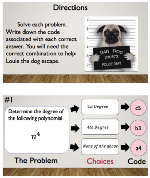 Degree of a Polynomial – Bad Dog Breakout!