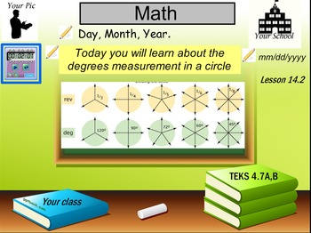 Degrees and fractions