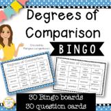 Degrees of Comparison Bingo