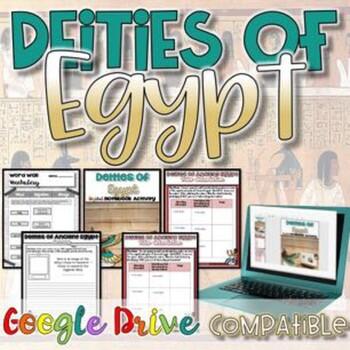 Deities of Egypt Activity