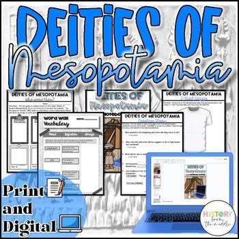 Deities of Mesopotamia Activity {Digital AND Paper}