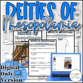 Deities of Mesopotamia Activity {Digital}