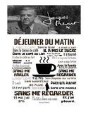 Dejeuner du matin Jacques Prevert guide for French class students