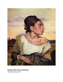 Delacroix Orphan Girl at the Cemetery Romantic Era