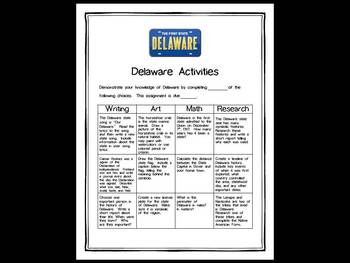 Delaware Differentiated State Activities