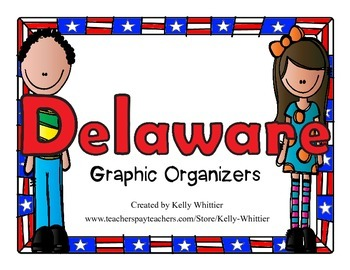 Delaware Graphic Organizers (Perfect for KWL charts and ge