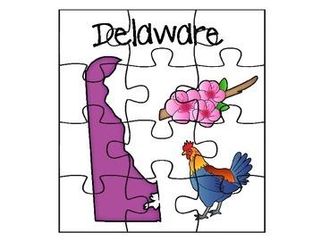 Delaware Puzzle Set