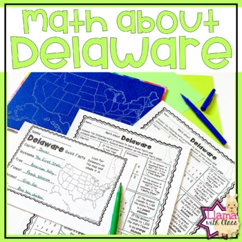 Math about Delaware State Symbols through Addition Practice