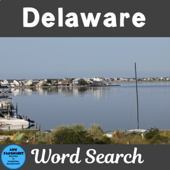 Delaware Word Search