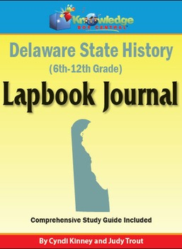 Delaware State History Lapbook Journal