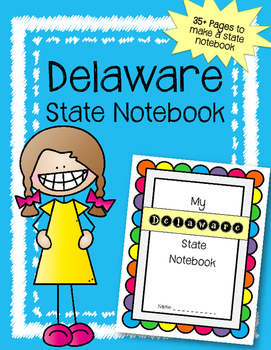 Delaware State Notebook. US History and Geography