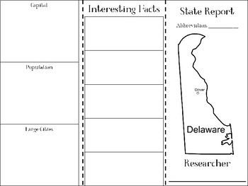 Delaware State Research Brochure