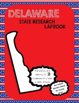 Delaware State Research Lapbook Interactive Project