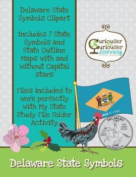 State Symbols Clipart Series: Delaware