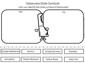 Delaware State Symbols Worksheet
