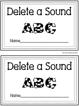 Delete a Sound Mini Book