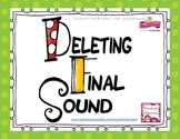 Deleting Final Sound Flashcards