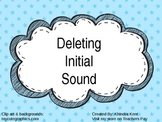Deleting Initial Sound Powerpoint