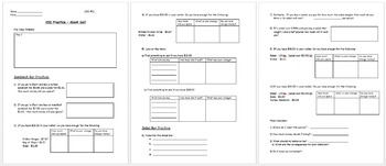 Real World Math (ACTIVE BOARD) - Deli CBI; Life Skills Math
