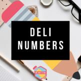 Deli Numbers