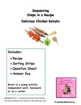 Delicious Chicken Kebabs-Sequencing