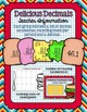 Delicious Decimals- Adding Decimals with Regrouping Task Cards
