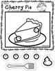 Scissor Skills: Color, Cut and Paste Delicious Desserts {irregular shapes}