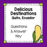 Delicious Destination Quito Ecuador Movie Guide in English Culture Sub Plan