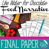 Like Water for Chocolate:  Food Narrative