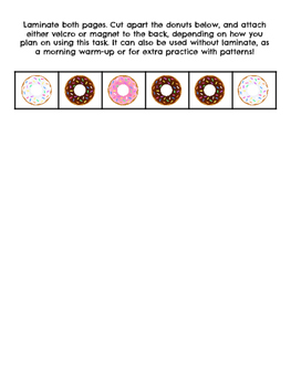 Delicious Donut Patterns