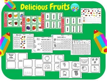 Delicious Fruits ESL EFL
