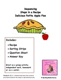 Delicious Petite Apple Pies-Sequencing