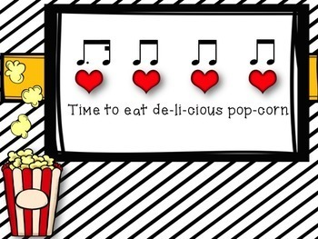 """Delicious Popcorn - A Song & Game to Practice """"tim-ka"""""""