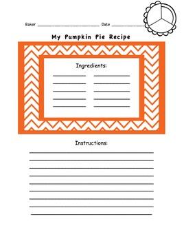 Delicious Pumpkin Pie Lesson
