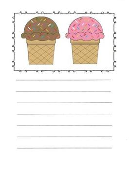 Delicious Treats Writing Journal