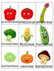 Delicious and Nutritious! Final stable syllables -tious, -cious, -tion, -sion