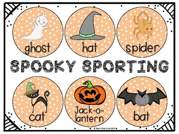 Halloween Sorting and Graphing FREEBIE!