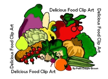 Deliciously Large Food Clip Art