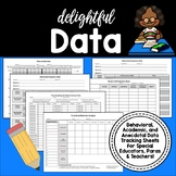 Data Collection Sheets for Special Education Teachers, Paraprofessionals, Etc.