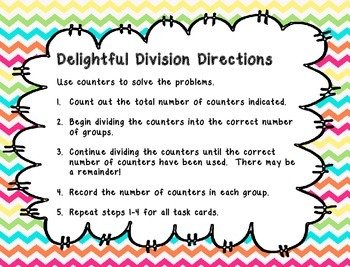 Delightful Division Practice with remainders