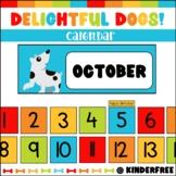 Delightful Dogs Calendar Set