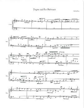 Delightful Solo Beginning Baroque Piano Fugue Piece