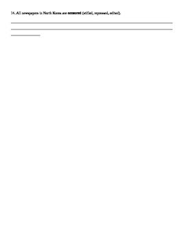 Delirium by Lauren Oliver Chapter 5-8 Vocabulary Common Core Aligned