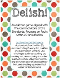 Delish! Addition CCSS Aligned Math Game