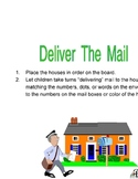 Deliver The Mail:  Community Helpers, Counting, Colors