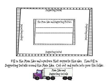 Delivering the Goods...Lanugage Arts File Folder/Lap Book