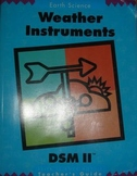 Delta Science DSM II Earth Science Weather Instruments Teacher's Guide