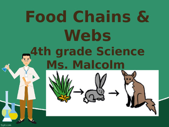 Delta Science- Food Chains & Webs