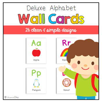 Deluxe Alphabet Wall Cards