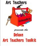 Deluxe Art Teachers Toolkit